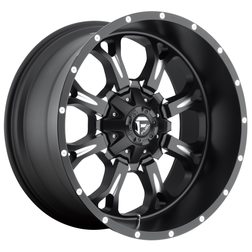 FUEL KRANK 20x9 8x180.00 MATTE BLACK MILLED (20 mm)