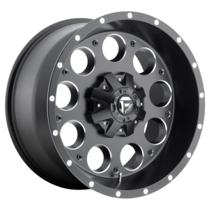FUEL REVOLVER 20x9 8x180.00 MATTE BLACK MILLED (20 mm)  D52520901857