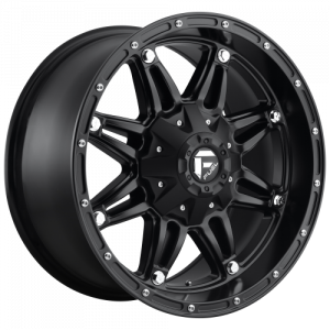 FUEL HOSTAGE 17x9 8x170.00 MATTE BLACK (1 mm)  D53117901750
