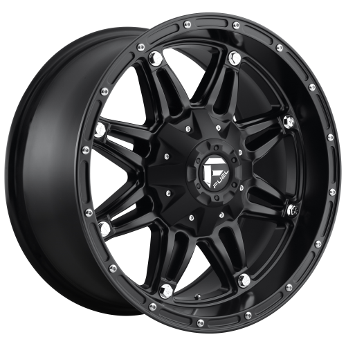 FUEL HOSTAGE 22x12 8x180.00 MATTE BLACK (-44 mm)