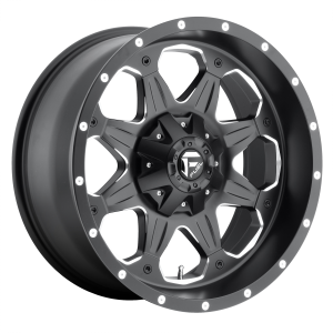 FUEL BOOST 20x9 5x114.30/5x127.00 MATTE BLACK MILLED (1 mm)  D53420902650