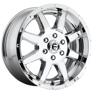 FUEL MAVERICK 20x8.25 8x210.00 CHROME PLATED (122 mm)
