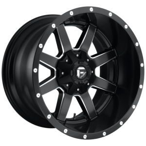 FUEL MAVERICK 24x8.25 8x170.00 MATTE BLACK MILLED (-176 mm)  D53824821725