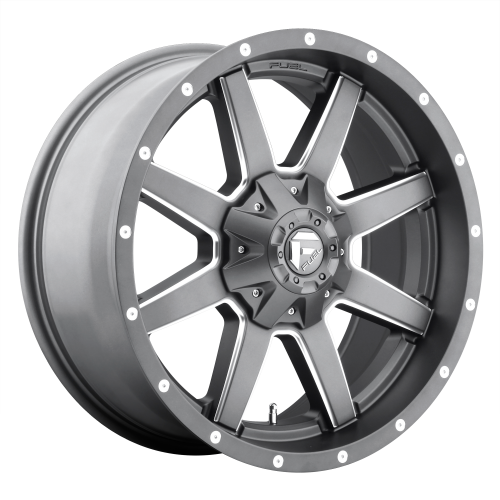 FUEL MAVERICK 20x10 6x135.00/6x139.70 MATTE GUN METAL MILLED (-18 mm)  D54220009847