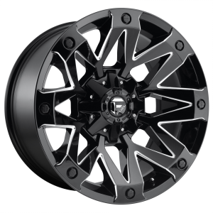 FUEL AMBUSH 20x9 8x165.10 GLOSS BLACK MILLED (1 mm)  D55520908250