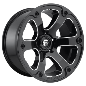 FUEL BEAST 20x9 6x139.70 GLOSS BLACK MILLED (20 mm)  D56220908357
