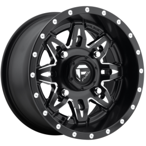 FUEL LETHAL 20x9 5x114.30/5x127.00 GLOSS BLACK MILLED (1 mm)  D56720902650