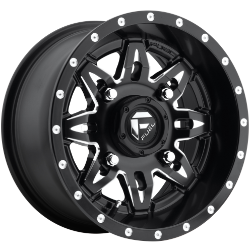 FUEL LETHAL 20x9 8x180.00 GLOSS BLACK MILLED (20 mm)