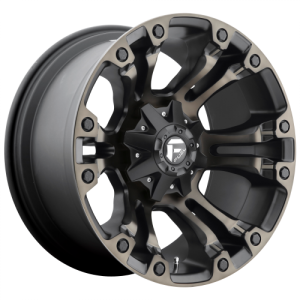 FUEL VAPOR 20x12 6x135.00/6x139.70 MATTE BLACK DOUBLE DARK TINT (-44 mm)  D56920209847