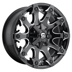 FUEL BATTLE AXE 20x10 5x114.30/5x127.00 GLOSS BLACK MILLED (-18 mm)  D57820002647