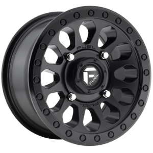 FUEL VECTOR UTV 15x7 4x137.00 MATTE BLACK (38 mm)  D5791570A654
