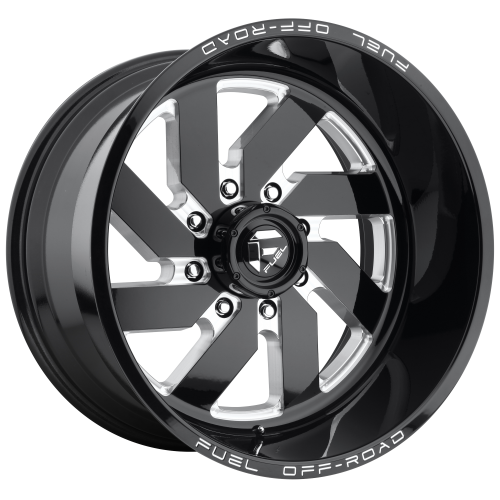 FUEL TURBO 20x9 6x139.70 GLOSS BLACK MILLED (20 mm)  D58220908357