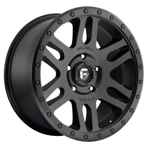 FUEL RECOIL 20x9 6x139.70 MATTE BLACK (1 mm)