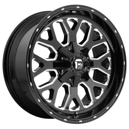 FUEL TITAN 20x9 6x120.00/6x139.70 GLOSS BLACK MILLED (20 mm)  D58820906957