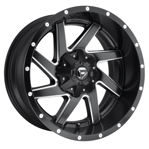 FUEL RENEGADE 20x10 6x135.00/6x139.70 MATTE BLACK MILLED (-18 mm)  D59420009847