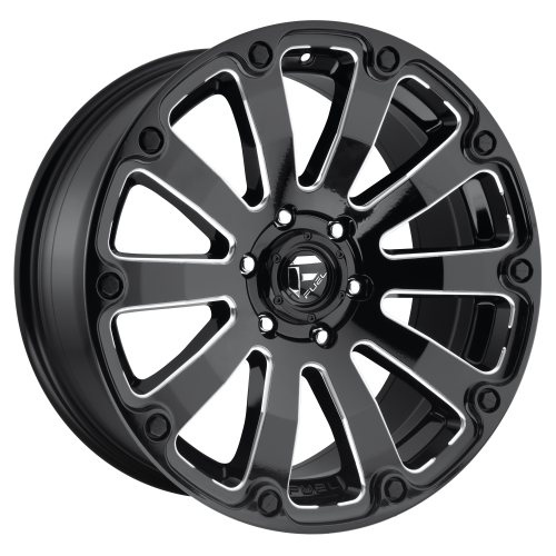 FUEL DIESEL 20x12 8x165.10 GLOSS BLACK MILLED (-44 mm)  D59820208247