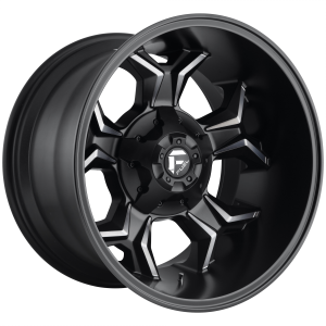 FUEL AVENGER 20x9 5x114.30/5x127.00 MATTE BLACK DOUBLE DARK TINT (1 mm)  D60520902650