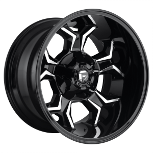 FUEL AVENGER 20x10 6x135.00/6x139.70 GLOSS BLACK MILLED (-18 mm)  D60620009847