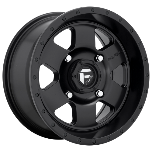 FUEL PODIUM 15x7 4x137.00 MATTE BLACK (13 mm)  D6181570A644