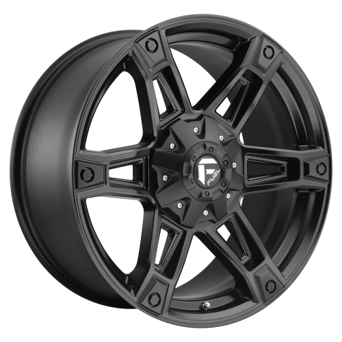 FUEL DAKAR 20x9 5x139.70/5x150.00 MATTE BLACK (20 mm)  D62420907057