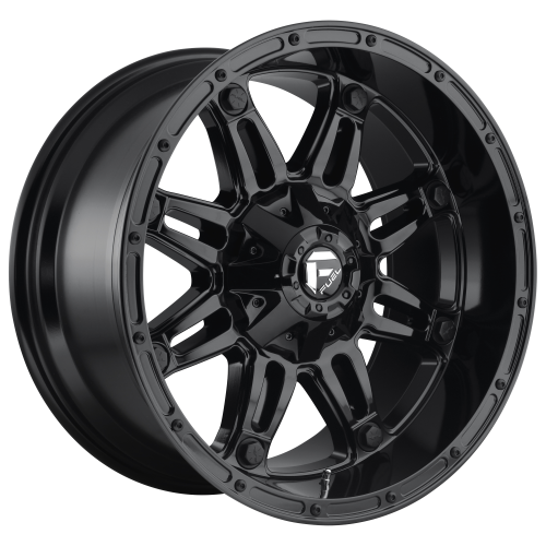 FUEL HOSTAGE 20x9 8x170.00 GLOSS BLACK (1 mm)