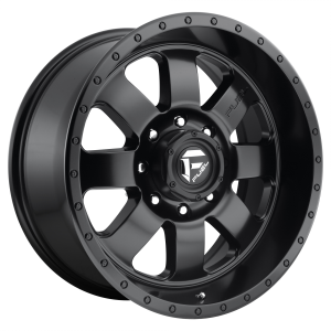 FUEL BAJA 20x9 6x135.00 MATTE GUN METAL BLACK LIP (20 mm)  D62820908957