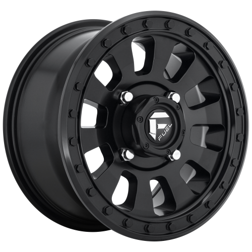 FUEL TACTIC 20x9 5x127.00 MATTE BLACK (20 mm)  D63020907557
