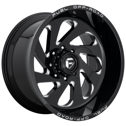 FUEL VORTEX 22x12 8x180.00 GLOSS BLACK MILLED (-44 mm)  D63722201847