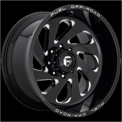 FUEL VORTEX 22x12 8x180.00 GLOSS BLACK MILLED (-44 mm)  D63722201847
