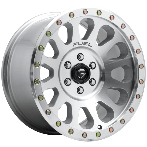 FUEL VECTOR 17x8.5 6x139.70 HIGH LUSTER POLISHED (7 mm)  D64717858350
