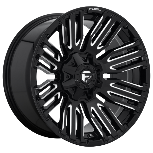 FUEL SCHISM 20x10 6x135.00/6x139.70 GLOSS BLACK MILLED (-18 mm)  D64920009847