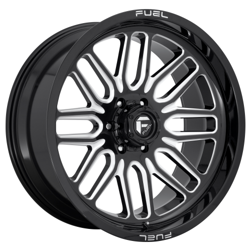 FUEL IGNITE 22x10 5x127.00 GLOSS BLACK MILLED (-18 mm)  D66222007347