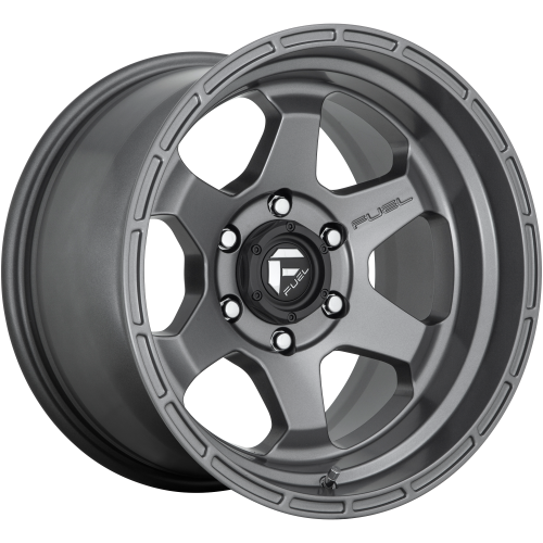 FUEL SHOK 20x9 6x139.70 MATTE GUN METAL (19 mm)