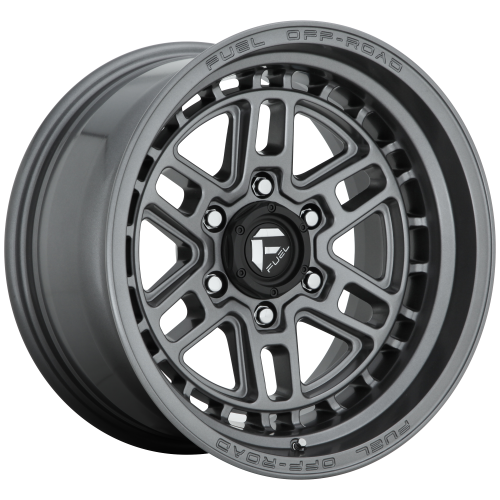 FUEL NITRO 20x9 6x139.70 MATTE GUN METAL (20 mm)