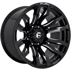 FUEL BLITZ 22x12 8x180.00 GLOSS BLACK MILLED (-44 mm)  D67322201847