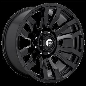 FUEL BLITZ 22x12 8x180.00 GLOSS BLACK (-44 mm)