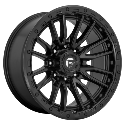 FUEL REBEL 22x10 8x165.10 MATTE BLACK (-18 mm)  D67922008247
