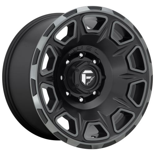 FUEL VENGEANCE 20x10 8x180.00 MATTE BLACK DOUBLE DARK TINT (-18 mm)