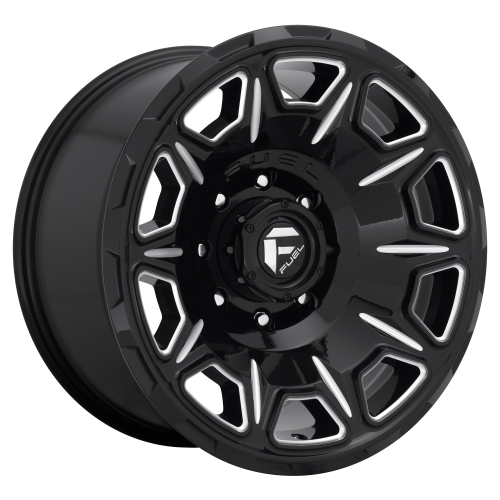 FUEL VENGEANCE 20x10 8x180.00 GLOSS BLACK MILLED (-18 mm)