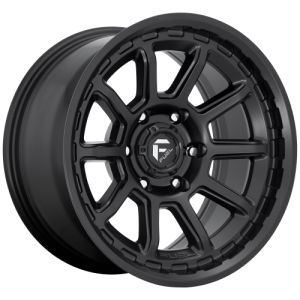 FUEL TORQUE 18x9 5x139.70 MATTE BLACK (20 mm)  D6891890B457