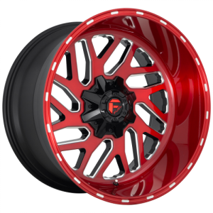 FUEL TRITON 22x12 6x135.00/6x139.70 CANDY RED MILLED (-44 mm)  D69122209846