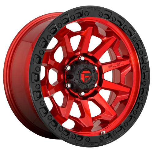 FUEL COVERT 20x9 6x139.70 CANDY RED BLACK BEAD RING (13 mm)