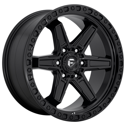 FUEL KICKER 17x9 6x135.00 MATTE BLACK (-12 mm)  D69717908945
