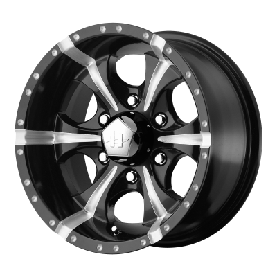 HELO MAXX 18x9 8x170.00 GLOSS BLACK MILLED (-12 mm)