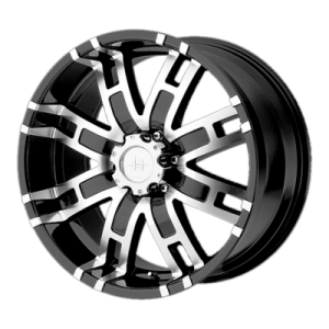 HELO HE835 17x8 8x170.00 GLOSS BLACK MACHINED (0 mm)