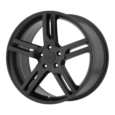 HELO HE885 18x8 5x120.00 SATIN BLACK (38 mm)