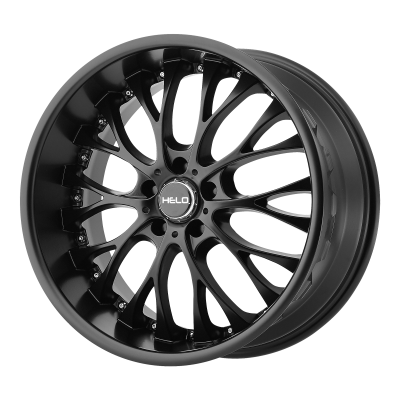 HELO HE890 22x8.5 5x114.30 SATIN BLACK (40 mm)  HE89022812740