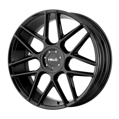 HELO HE912 17x7.5 6x114.30/6x120.00 GLOSS BLACK (18 mm)