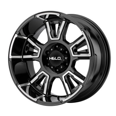 HELO HE914 20x9 8x180.00 GLOSS BLACK MACHINED (0 mm)