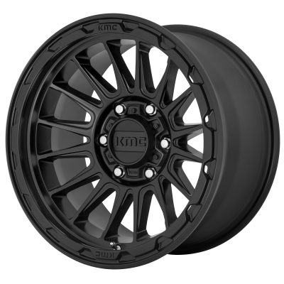 KMC IMPACT 18x9 6x139.70 SATIN BLACK (18 mm)